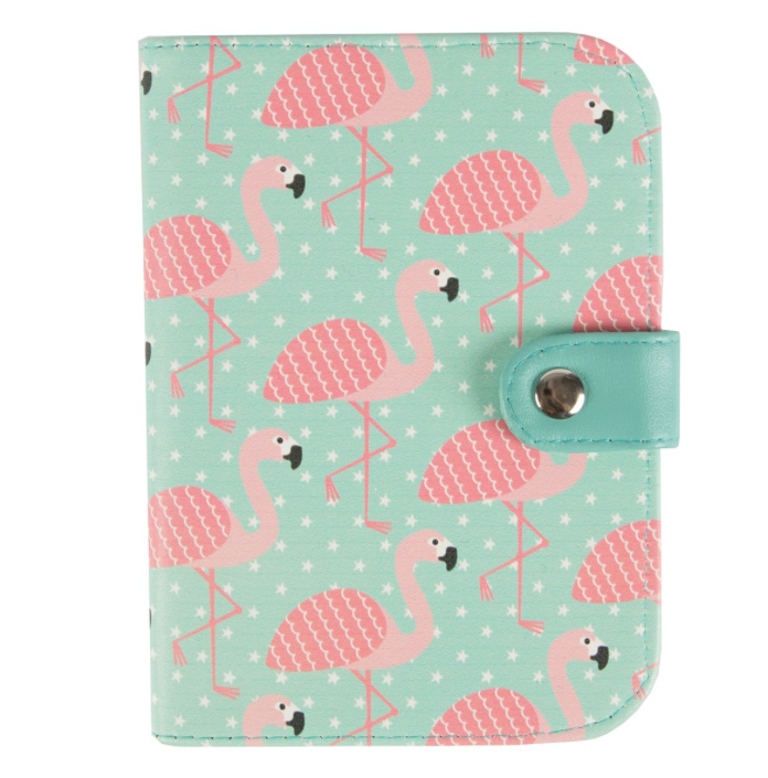 Sass and Belle Flamingo Passport Holder