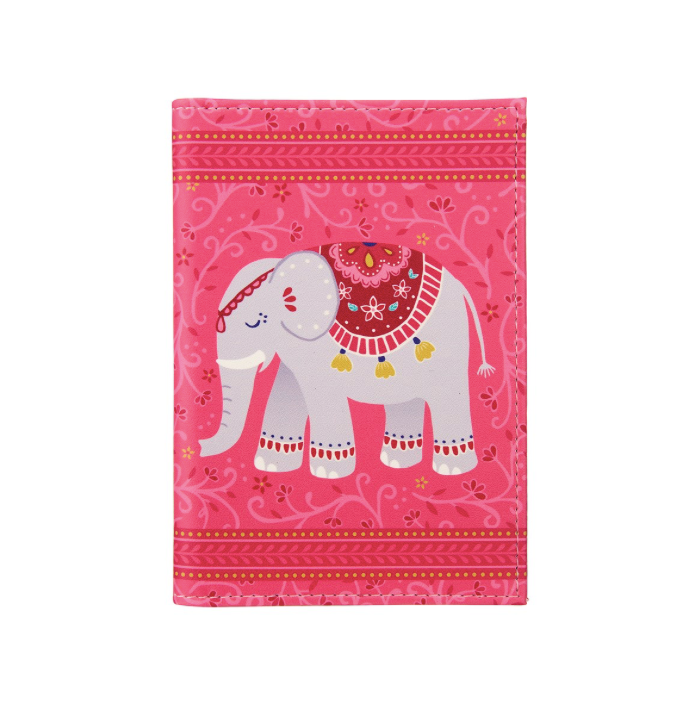 Sass and Belle Mandala Elephant Passport Holder