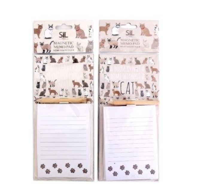Magnetic Cat Memo Pads