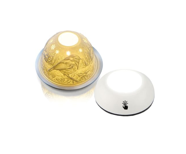 LED Touch Control Light - Designed for the Porcelain Dome Tea Light Holders