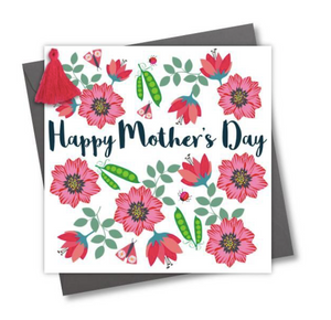 Happy Mother's Day Greetings Card - Peas