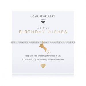 Children's Joma Jewellery Bracelet - Birthday Wishes