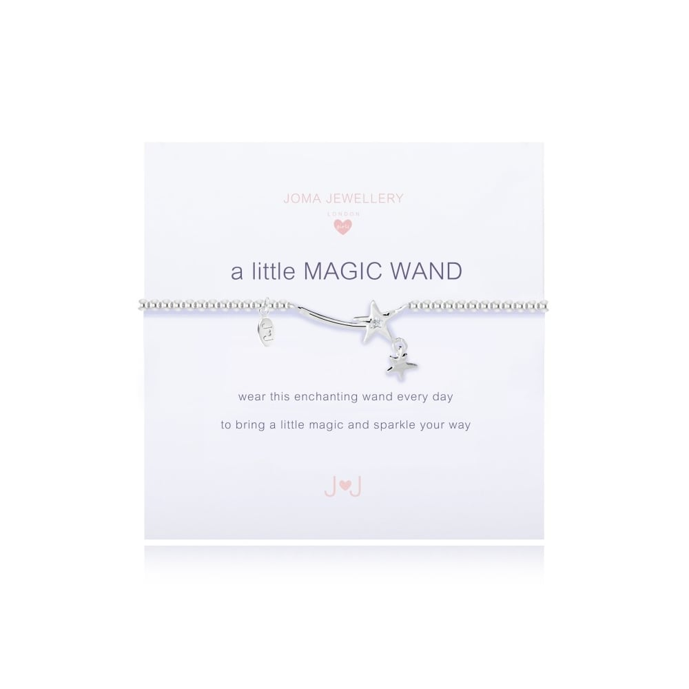 Children's Joma Jewellery Bracelet - Magic Wand
