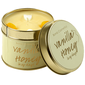 Vanilla Honey Candle Tinned Candle