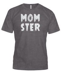 Funny Momster Halloween Tshirt for Mom Mother