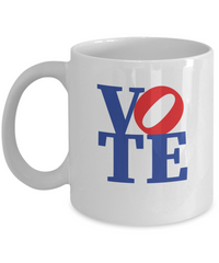 Vote Mug Political Coffee Elections