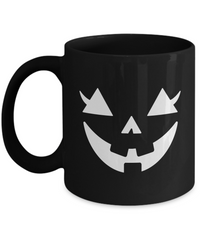 Happy Halloween Pumpkin Jack O'Lantern Face Fun Mug
