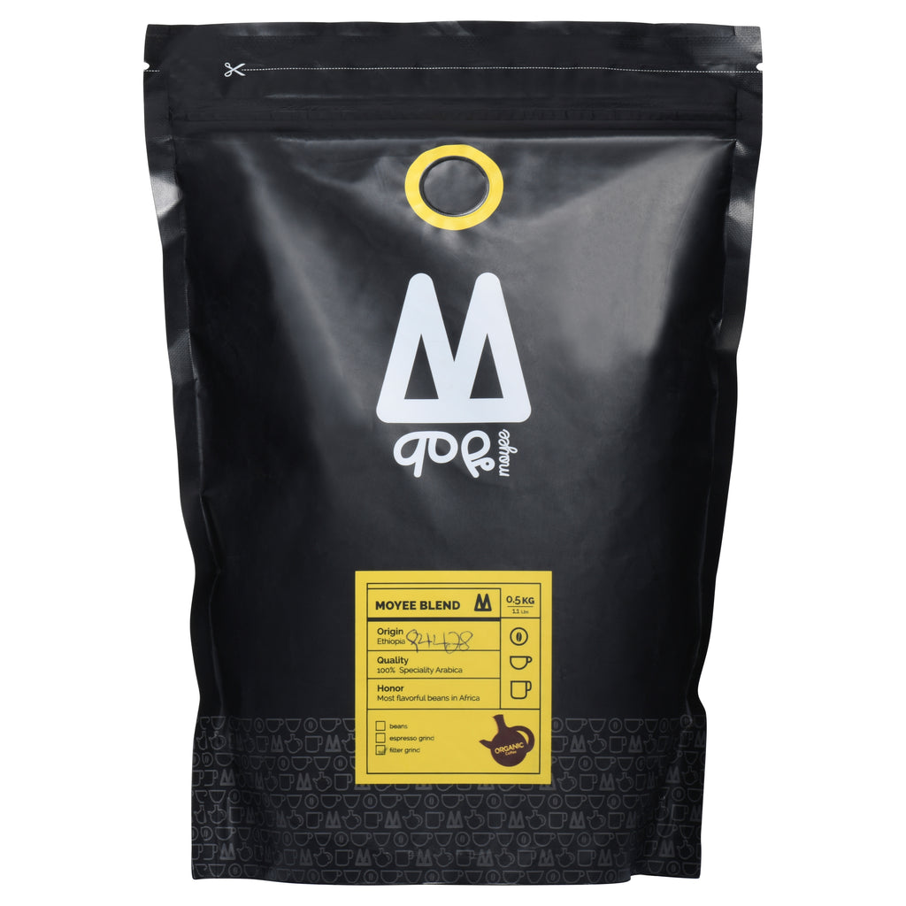 Moyee 1 kg Premium Ethiopian Whole Beans Coffee
