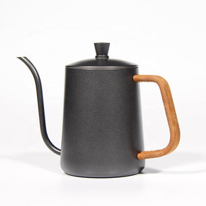 Pour Over Coffee Kettle With Leather  600 ml