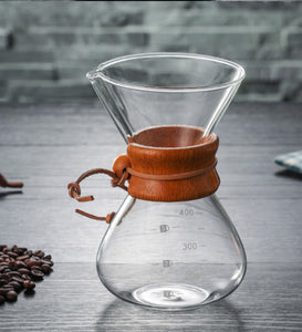 Chemex with stainless steel filter  600ml