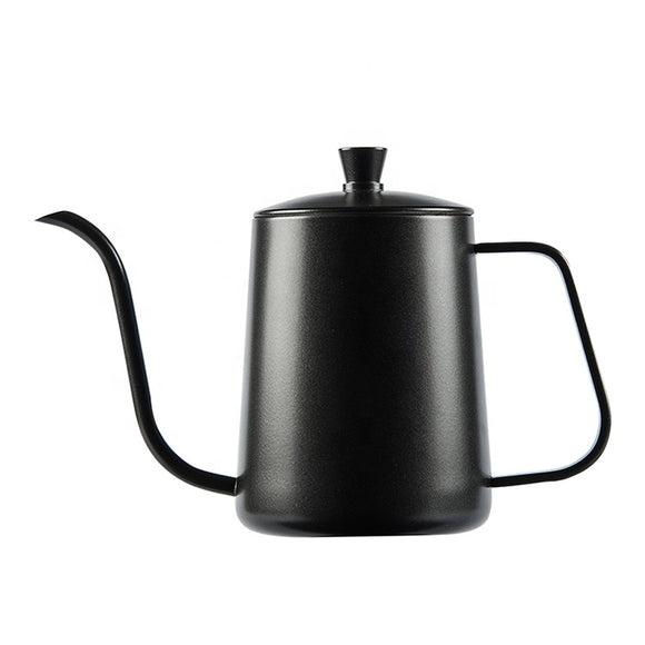 Black Pour Over Coffee Kettle 600 ml