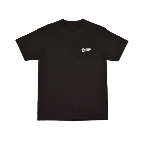 Basic Tee - Black (White)