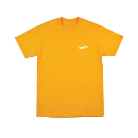 Basic Tee - Team Gold (White)
