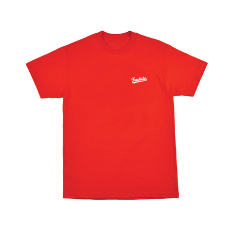 Basic Tee - Red (White)