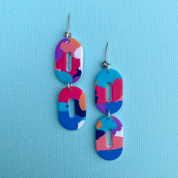 Colour Pop - Double Capsule Dangle