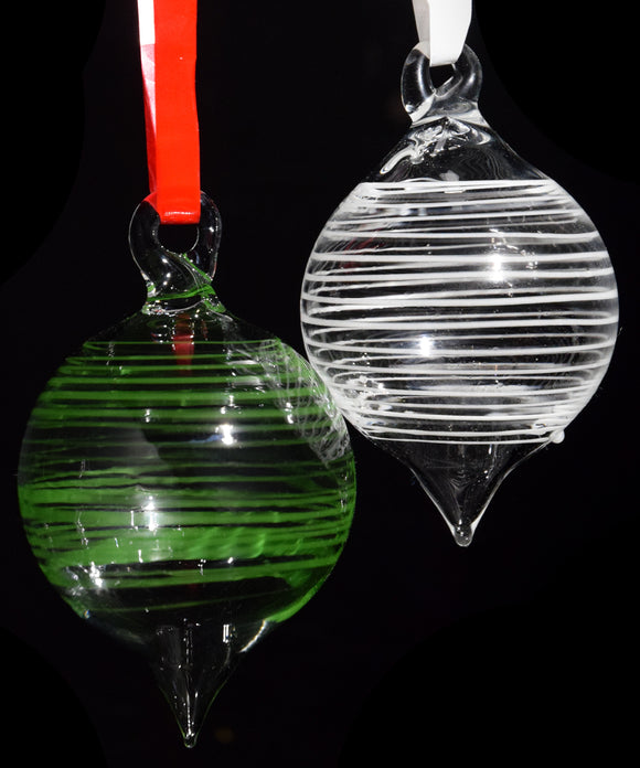 Christmas Ornament Round With Color