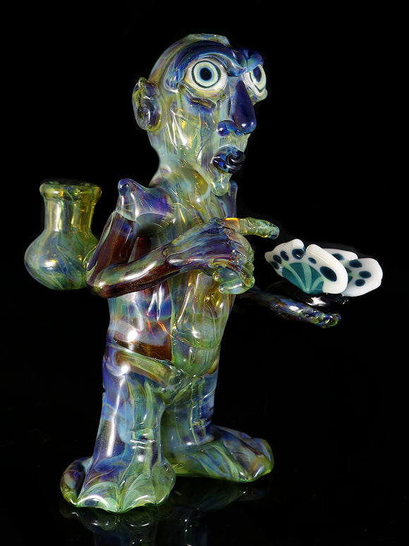 Dab Rig Alien holding Butterfly by, Phil PGW