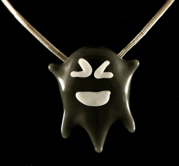 Dark Gray Ghost Pendant