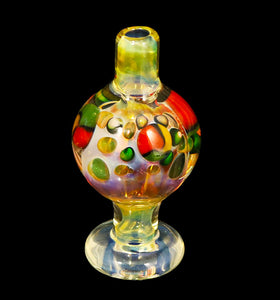 Rasta dot carb cap from ck_glass