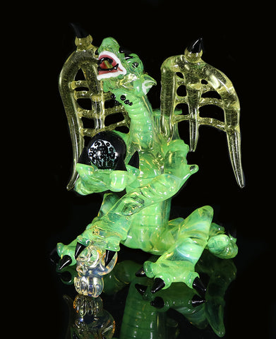 Dab Rig Color changing (CFL) Dragon by, Phil Sundling