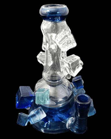 Dab Rig Icy mini tube by, Chaka