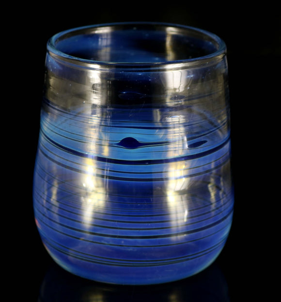 Stemless Wine Cup Blue by, Phil_PGW