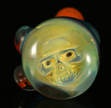 skull spoon hologram dry pipe