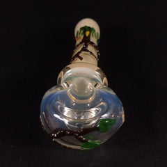 Tree Spoon Pipe: Glass by Mouse