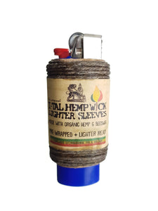 ital hemp wick lighter sleeve