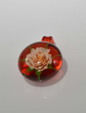 Glass by Mouse: Flower Pendant