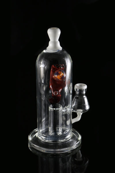 Dab Rig, Devils Right Hand bong #2 by, Phil sundling/Judd Migrant Glass