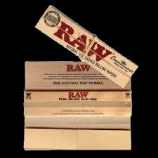 Raw rolling papers 1 1/4 with tips