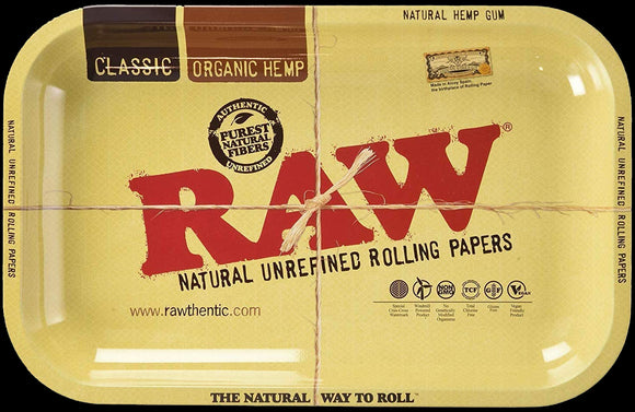 Raw Rolling Tray Small 11x7x1