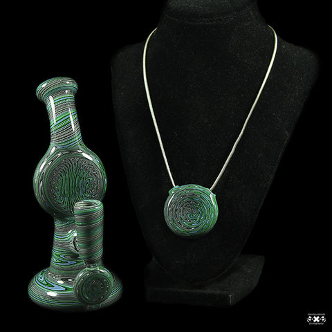 Tommy B 14mm Worked Mini Tube and Pendant