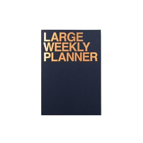 Large Weekly Planner | Indigo