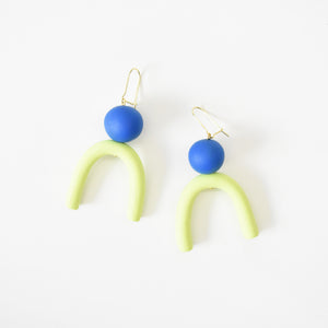 Blueberry Lime Earrings