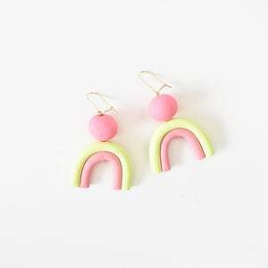 Strawberry Kiwi Earrings