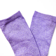 Load image into Gallery viewer, Lavender Sparkle Socks