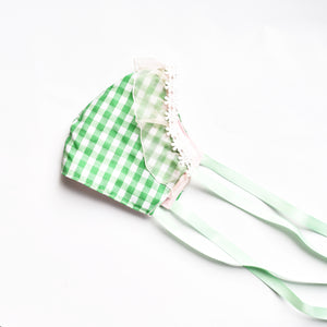 Green Checkered Mask