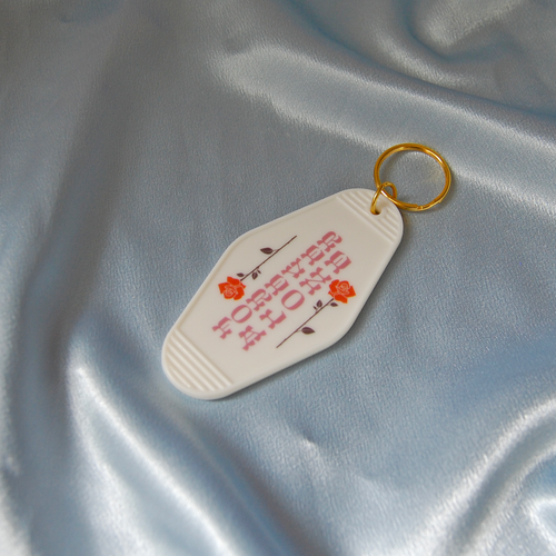 Forever Alone Key Tag