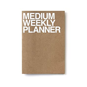 Medium Weekly Planner | Kraft