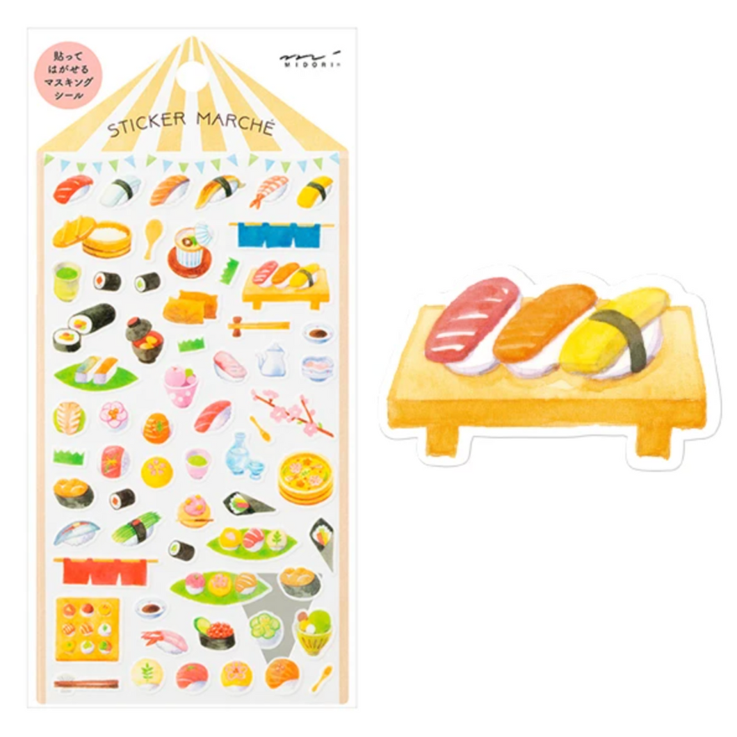 Sushi Sticker Sheet