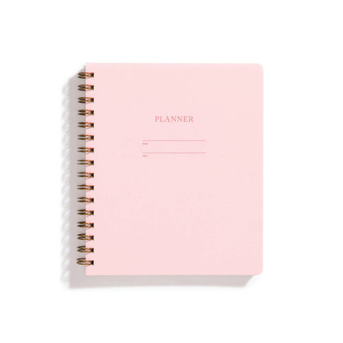 Pastel Planner | Various Colours