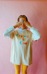 Crying is Cool Tee