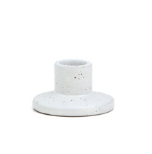 Load image into Gallery viewer, Speckled Ceramic Taper Holder | Various Sizes