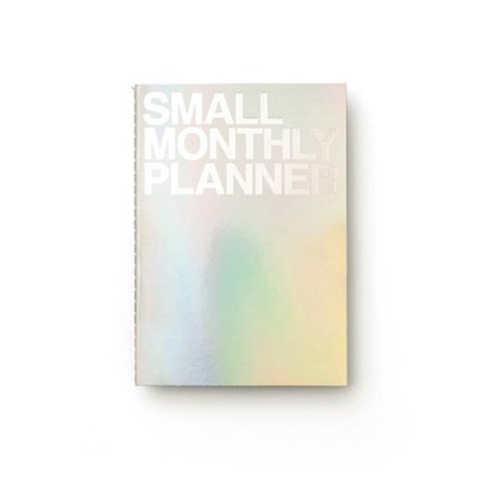 Small Monthly Planner | Holographic