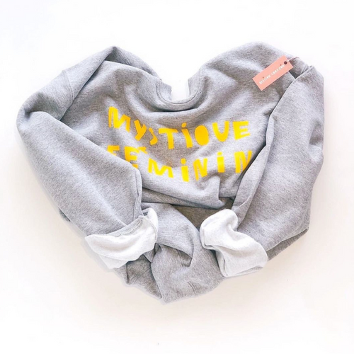 Mystique Féminin Sweatshirt | Heather Grey