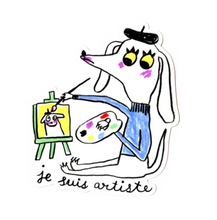 Load image into Gallery viewer, Je Suis Artiste Sticker