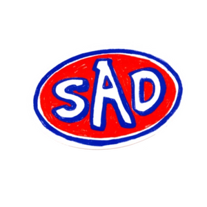 SAD Bumper Sticker