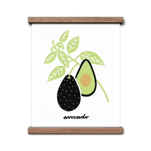 Avocado Botanical Art Print